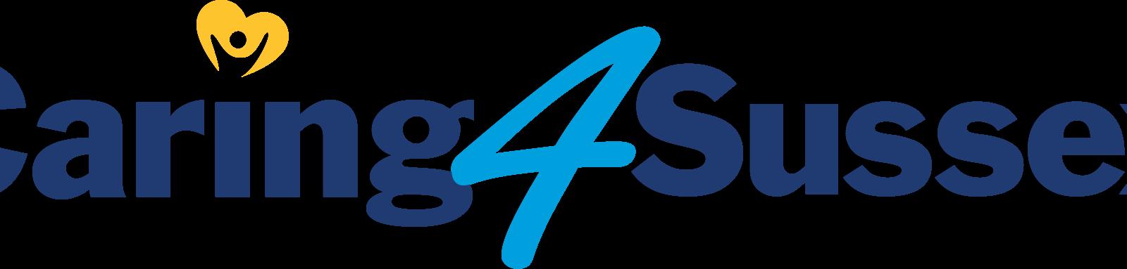 Caring 4 Sussex logo