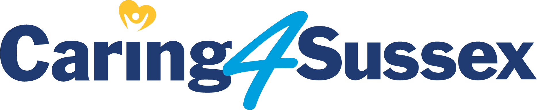 Caring 4 Sussex logo